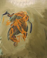 Errant oil on canvas 50 x 40 cm 2014