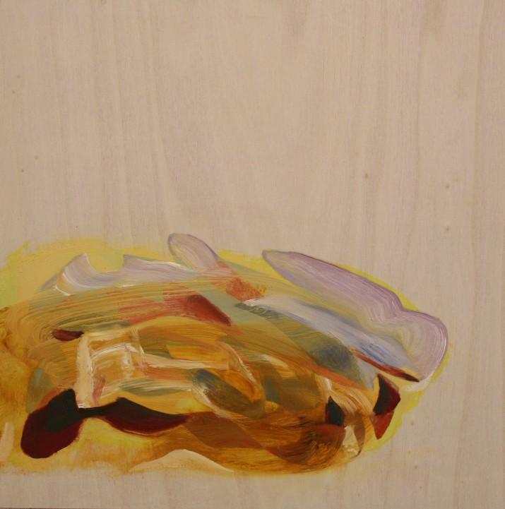 Murmur (Yellow) 30 x 30 cm