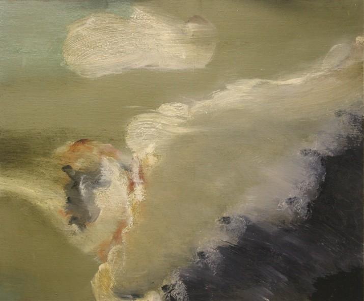 Tidal oil on panel 26 x 31 2012