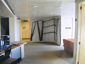 Universal Music Digital Mural (view of office)